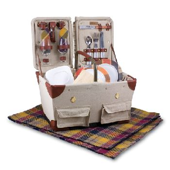 Pioneer Picnic Basket by