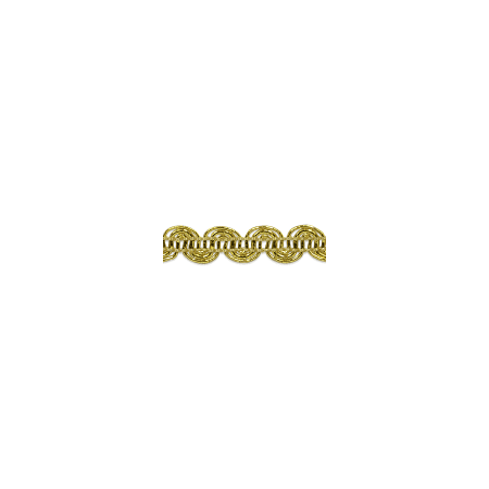Expo Int'l Pia Metallic Scroll Braid Trim by the yard Metallic Trim Tank