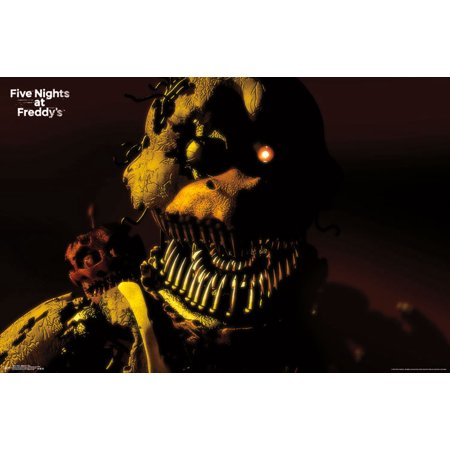 Trends International Five Nights At Freddys Nightmare Chica Wall Poster 22 375  X 34