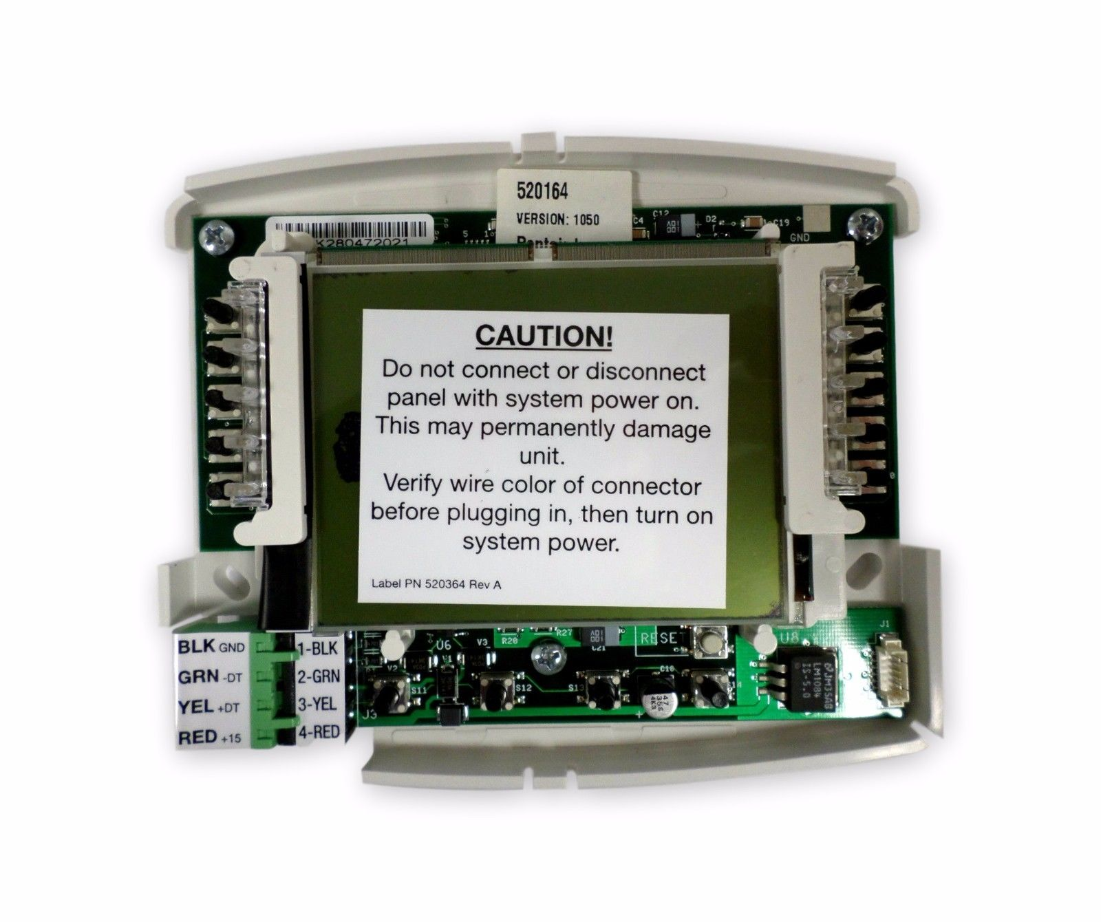Pentair 520274 PCB Indoor Control Panel White Intellitouch Circuit Board Replace by Pentair