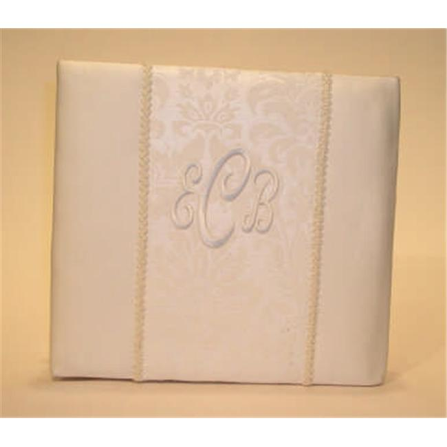 Beverly Clark A01070KA/IVO Brocade Monogram 8'' x 8'' Album