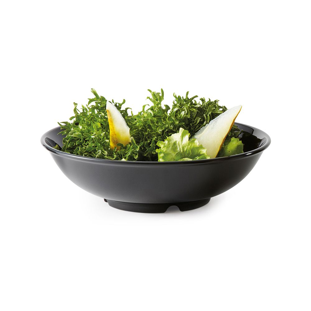 G.E.T. B-48-BK Black Elegance 1.9 Quart Pasta Bowl Dozen by G.E.T. Enterprises