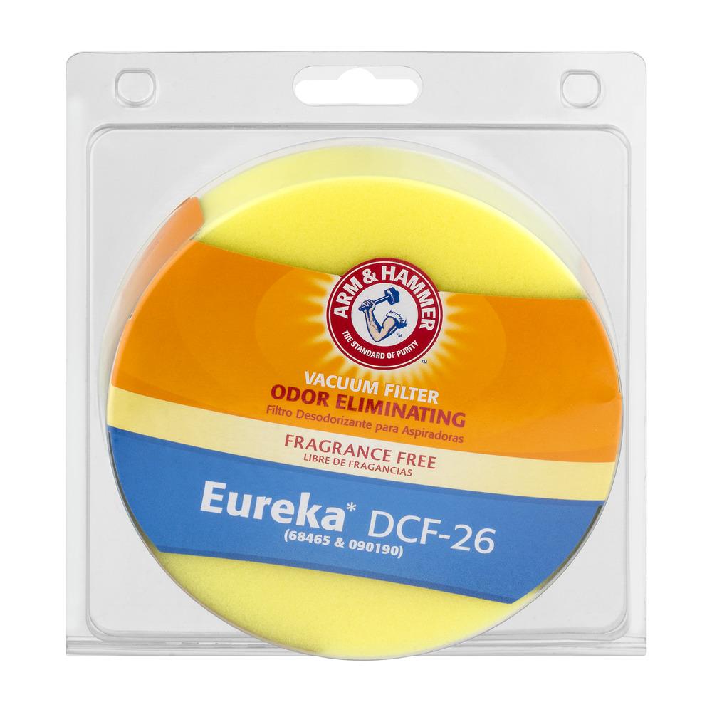 Arm & Hammer Odor Eliminating Vacuum Filter Eureka DCF-26, 1.0 CT
