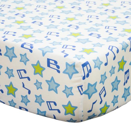 Belle Jungle Jamboree Fitted Crib Sheet