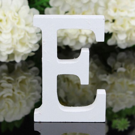 Baby Girl Alphabet - Decorative Wood Letters, 26 Letters Wooden Alphabet Wall Letter for Children Baby Name Girls Bedroom Wedding Brithday Party Home Decor