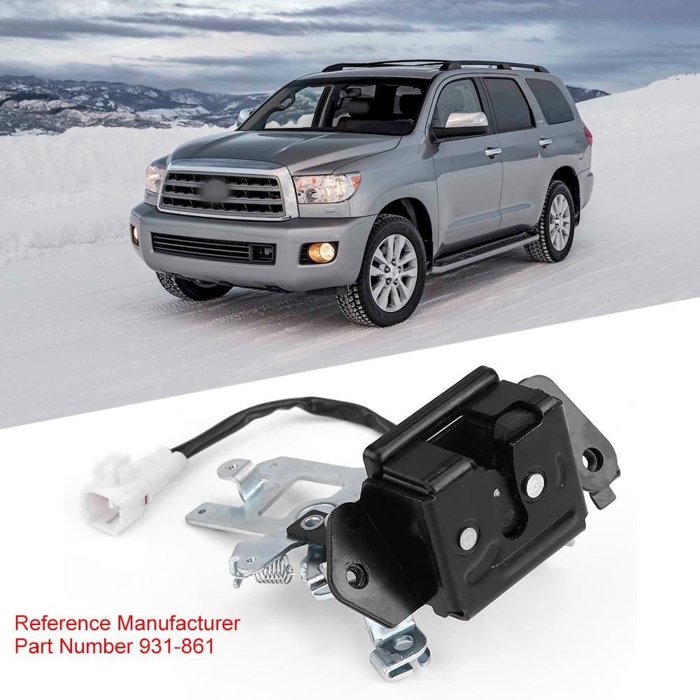 Rear Liftgate Door Lock Actuators Door Latch Replacement Fits for 2001-2007 for Toyota Sequoia 746-848