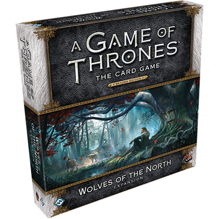 A Game of Thrones: The Card Game Second Edition: Wolves of the North Deluxe (Game Of Thrones Board Game 1st Edition)