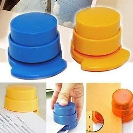 Holder Free Stopper - Heepo Office Home Portable Staple Free Stapleless Stapler Paper Binding Binder Paperclip