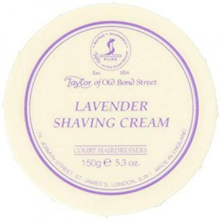 Taylor of Old Bond Street Lavender Shaving Cream Bowl, - Old Bond