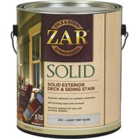 UGL ZAR 81013 1 gal Light Tint Base Solid Color Deck Stain