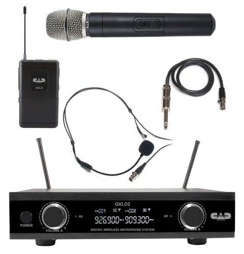 CAD GXLD2 Digital Dual Wireless Combo System - Freq AI - image 1 de 1