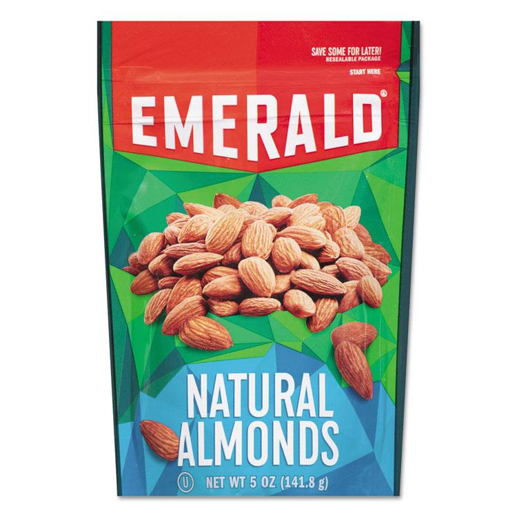 Natural Almonds, 5 Oz Bag, 6/carton