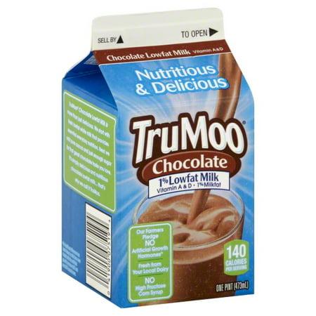 TruMoo 1% Low-Fat Chocolate Milk, 1