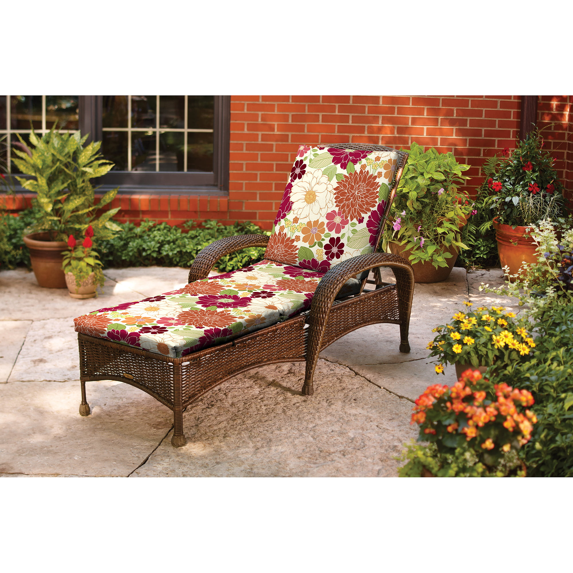 Better homes and gardens azalea ridge chaise lounge Better homes and gardens seat cushions