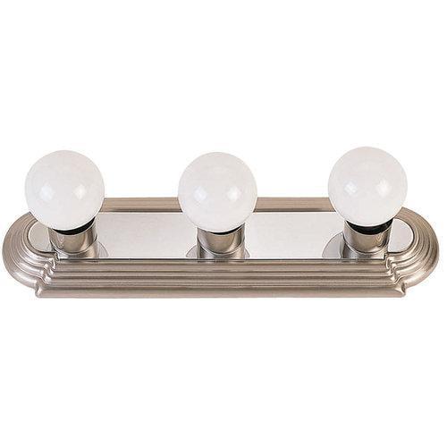 Livex Lighting  1143  Bathroom Fixtures  Bath Basics  Indoor Lighting  Vanity Strip  ;Brushed Nickel/Chrome