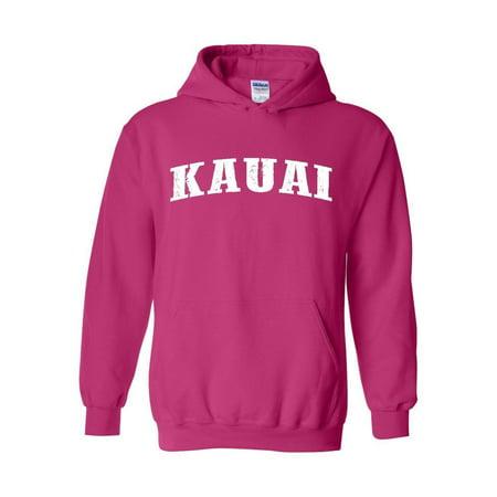 - Hawaii Kauai Maui Oahu Unisex Hoodie Hooded Sweatshirt