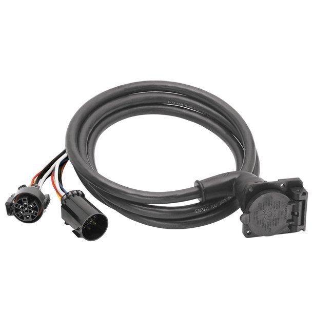 bargman 51 97 410 7 way 90a fifth wheel adapter harness w 9 cable dodge ford gm toyota walmart com walmart com bargman 51 97 410 7 way 90a fifth wheel adapter harness w 9 cable dodge ford gm toyota