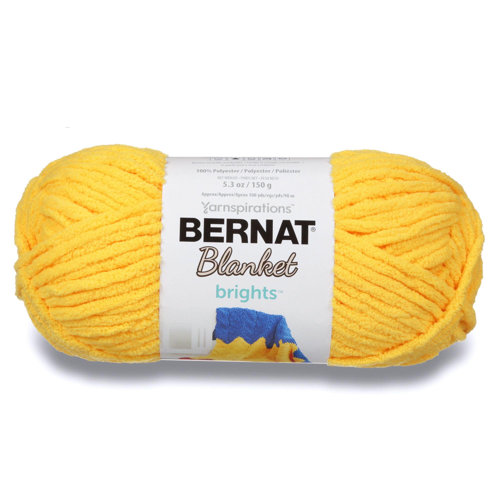 Bernat Polyester Blanket Bright's Yarn, 1 Each