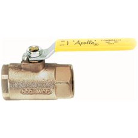 - Apollo Valves Threaded Standard Port Bronze Ball Valve, 3/4 In., Lead Free