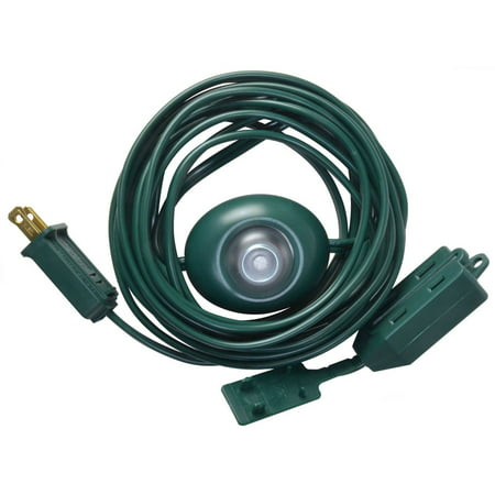 Vanity Light To Extension Cord : Woods 10203 Extension Cord with Lighted Foot Switch, Green, 15-Feet - Walmart.com
