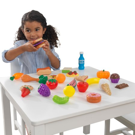KidKraft 30-Piece Plastic Play Food Set Only $8.88