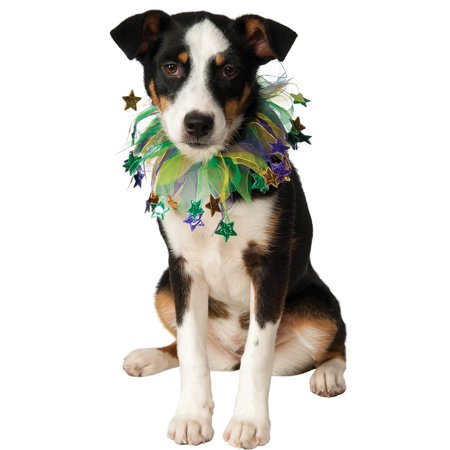 Mardi Gras Stars Fancy Dog Costume