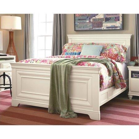Smartstuff Classics Panel Bed Summer White Twin