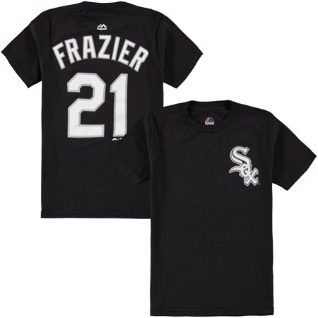 buy popular 28507 b399e Todd Frazier Chicago White Sox Majestic Youth Player Name & Number T-Shirt  - Black