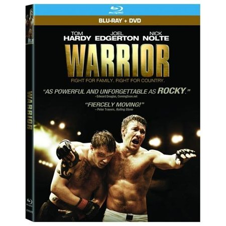Warrior (Blu-ray + DVD + Digital HD w/ Instawatch) for $5 @ Walmart online deal