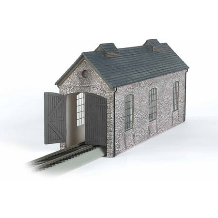 - Bachmann Trains Thomas and Friends Engine Shed Resin Building Scenery Item, HO Scale