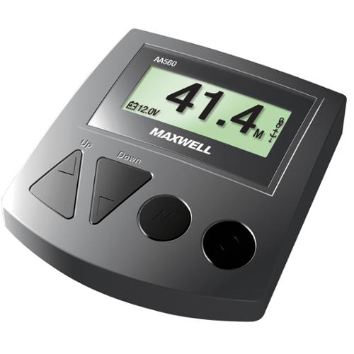 Maxwell AA560 Rope Chain or All Chain Counter Control - Gray