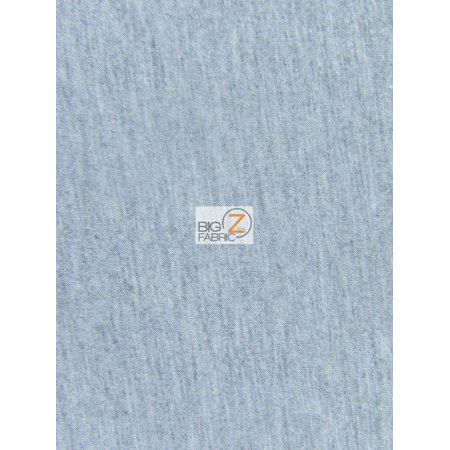Neoprene Material - Neoprene Scuba Techno Athletic Double Knit All-Purpose Fabric / Heather Gray / Sold By The Yard