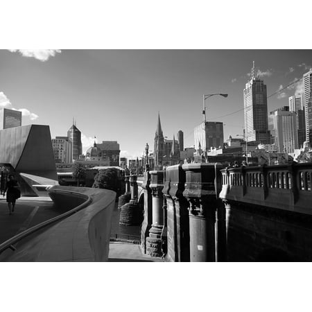 LAMINATED POSTER Architecture Australia City Urban Melbourne Poster Print 24 x 36