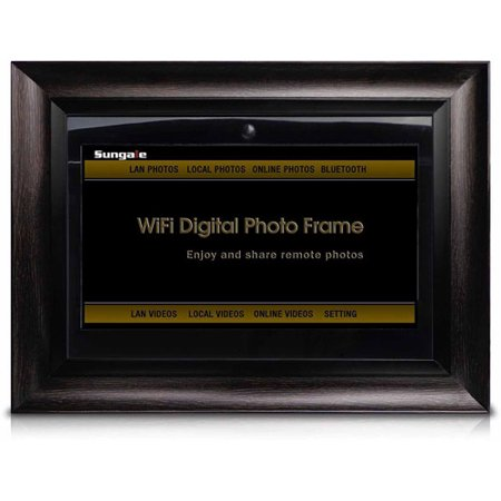 Sungale Ad1501w 14 Inch Wi Fi Digital Photo Frame With Motion