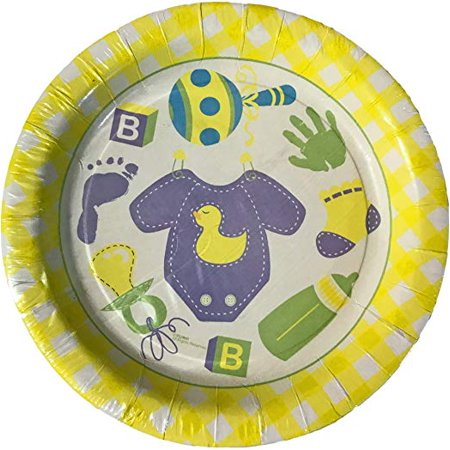 Baby Shower Party Celebration Dessert Plates (16 count)](Easy Baby Shower Desserts)