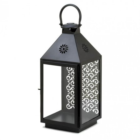 SPRIGHTLY LARGE CANDLE LANTERN - Large Black Lanterns