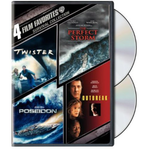 4 Film Favorites: Survival: Twister / The Perfect Storm / Outbreak / Poseidon (Widescreen)