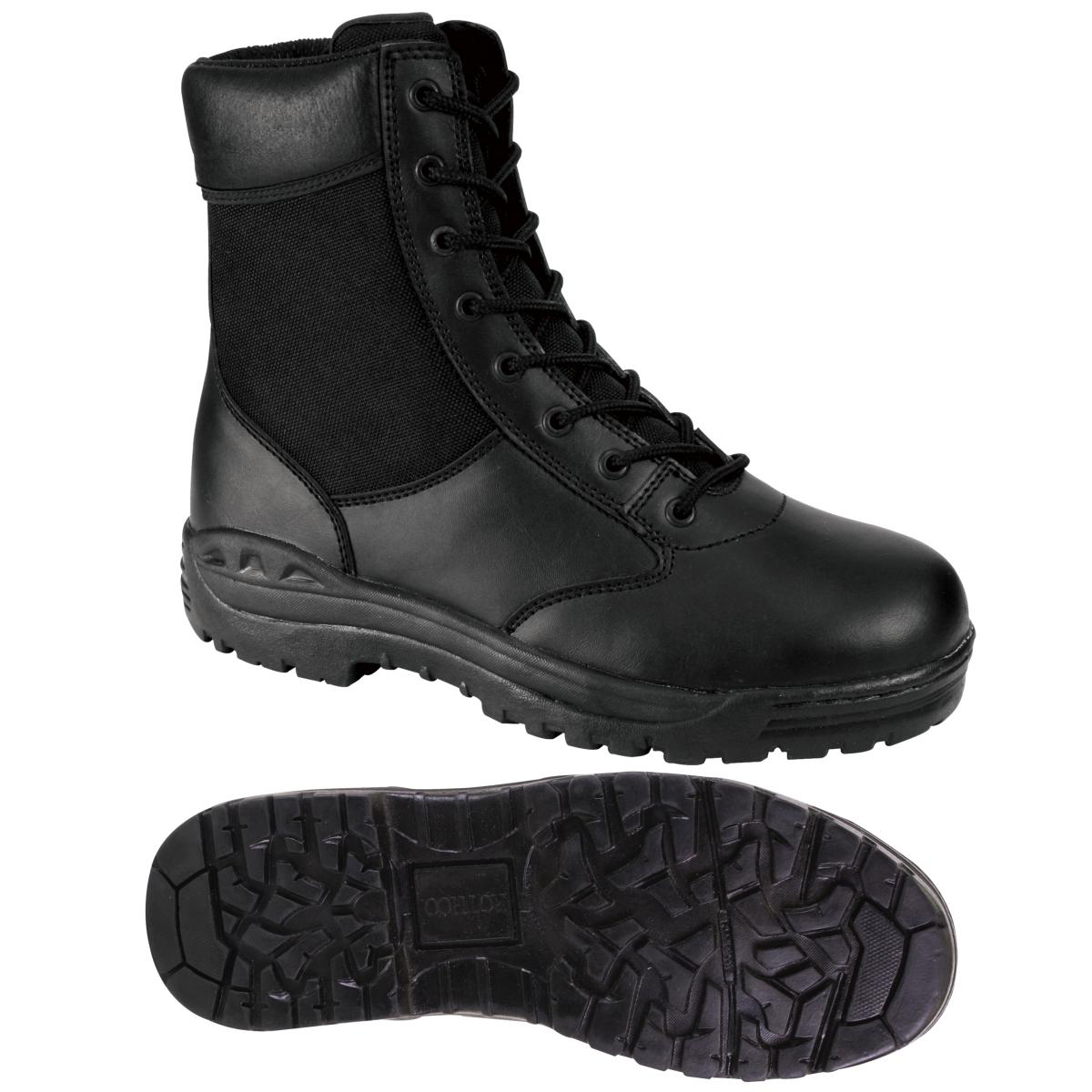 Rothco Boot  Black 8-inch Tactical Boot Rothco for Police/SWAT EMS/EMT f90743