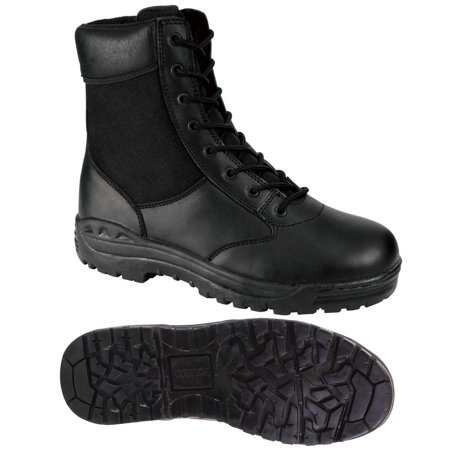 Rothco Black 8-inch Tactical Boot for Police/SWAT EMS/EMT