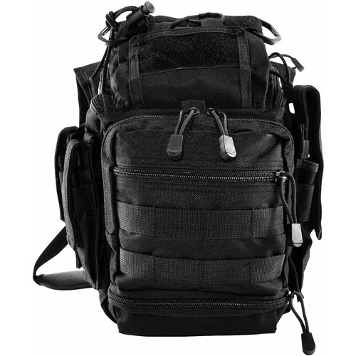 NcStar PVC First Responders Bag, Black