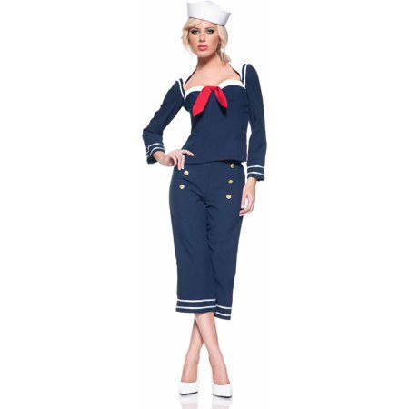 Shipmate Women's Adult Halloween Costume - Blue Devil Costume