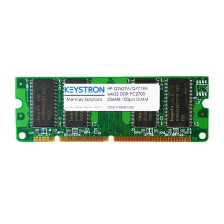 HP Q2627A Q7719A 256MB 100pin DDR SDRAM DIMM for HP LaserJet 2410 2420 2420d 2420dn 2430 2430dtn 2430n 2430tn Printer Memory