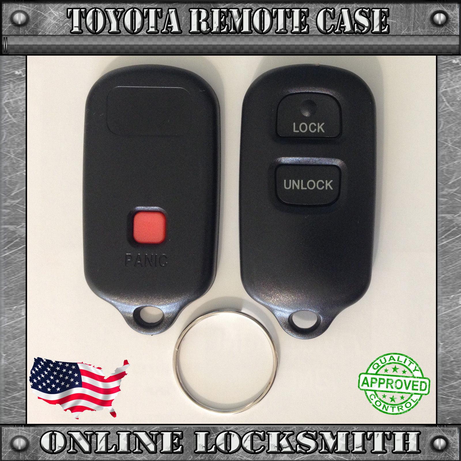 Remote Shell Keyless Entry Fob Case For Toyota FJ Cruiser 2006-2008 By Ri-Key