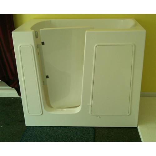 Space Saver Walk-in Tub (White - Left Door - Soaker (No Jets))
