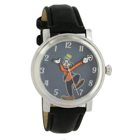 Disney Vintage Style Backward Ticking Watch Goofy Molded Hand Quartz Watch GY5001