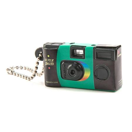 Fujifilm Mini QuickSnap Flash Camera Capsule Collection Keychain