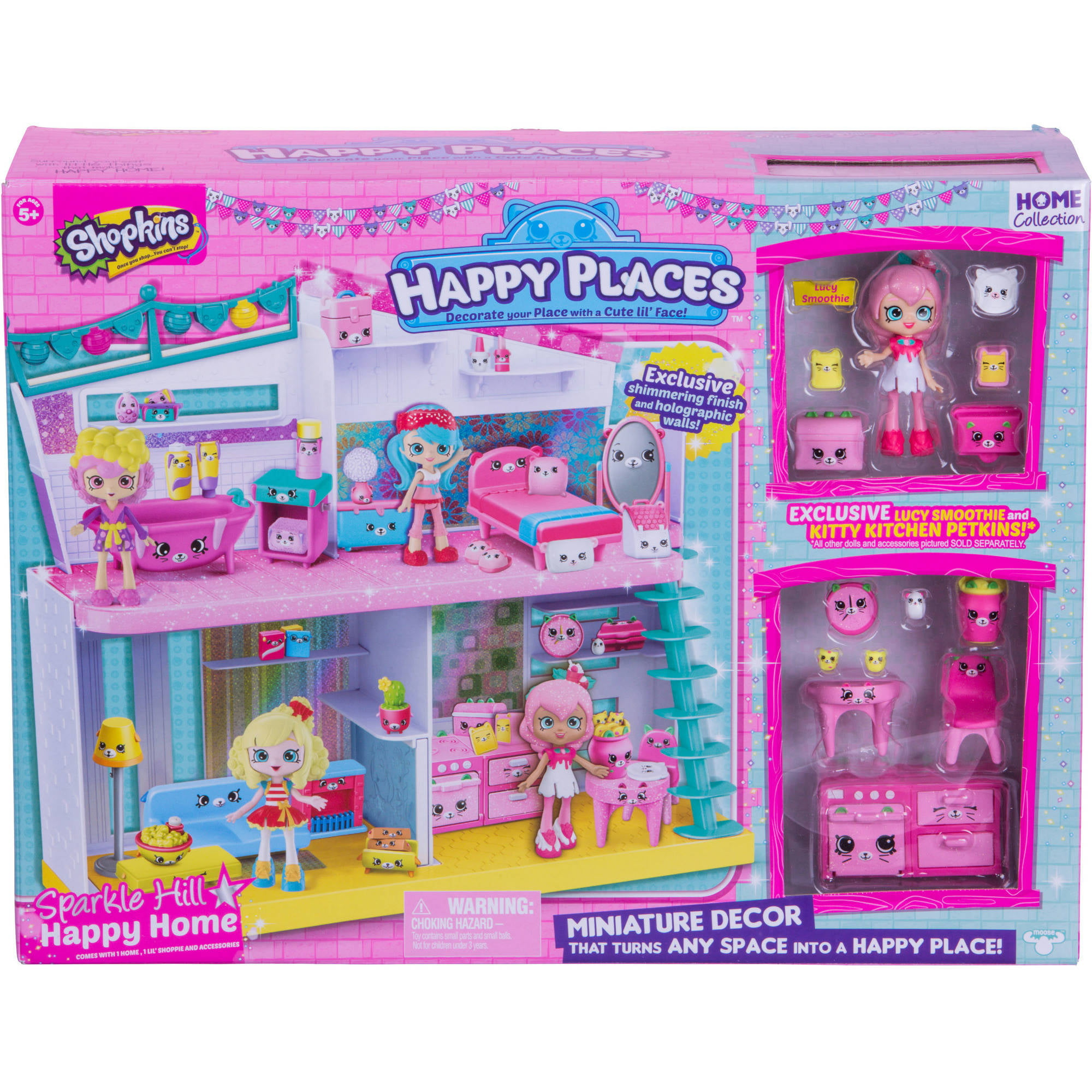 Shopkins Happy Places Sparkle Hill Home