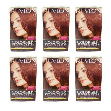 Revlon Hair Color Light Reddish Brown