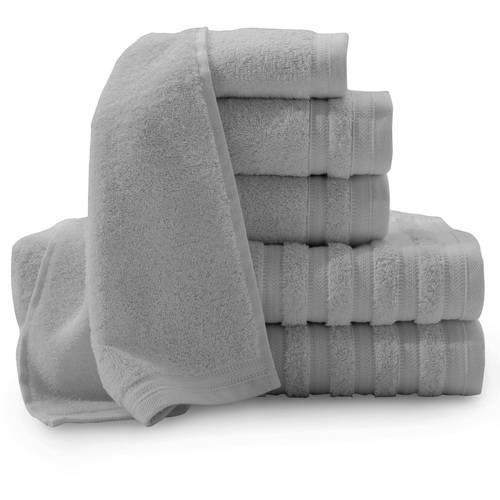 Pure Elegance 100 Percent Turkish Cotton 6-Piece Luxury Towel Set Collection