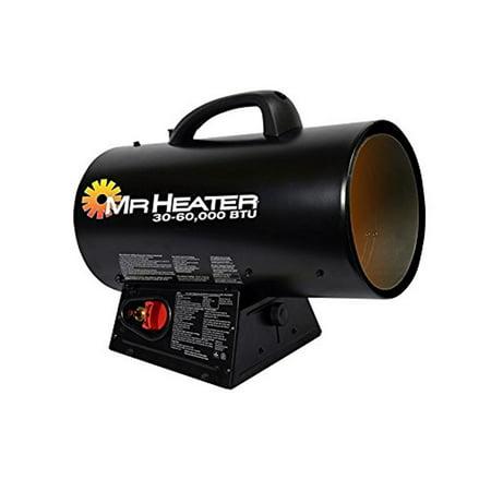 Mr. Heater MH60QFAV 60K BTU Forced Air Propane Heater (Heats 1,500 SQ.